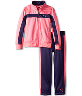 Puma Kids - Printed Colorblock Stripe Tricot Set (Little Kids)