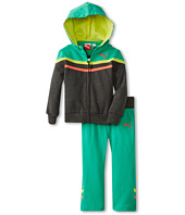 Puma Kids - Color Block Hoodie w/ Contrast Taping (Toddler)