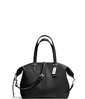 COACH - Bleecker Pebbled Leather Soft Satchel