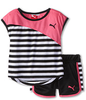 Puma Kids - PUMA® Blocked Stripe Short Set (Toddler)
