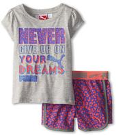 Puma Kids - Never Give Up Short Set (Toddler)