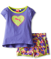 Puma Kids - PUMA® Printed Hearts Short Set (Toddler)
