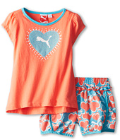 Puma Kids - PUMA® Printed Hearts Short Set (Little Kids)