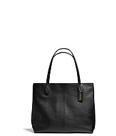 COACH - Key Items Leather Tote