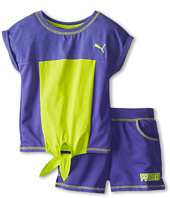 Puma Kids - Colorblock Short Set (Little Kids)