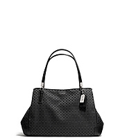 COACH - Madison Op Art Pearlescent Café Carryall