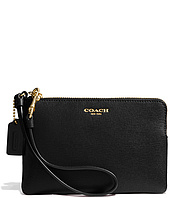 COACH - Saffiano Leather Small Wristlet