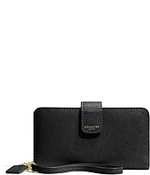 COACH - Saffiano Leather Phone Wallet