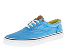 Sperry Top-Sider - Striper Twill Canvas (Blue) - Footwear