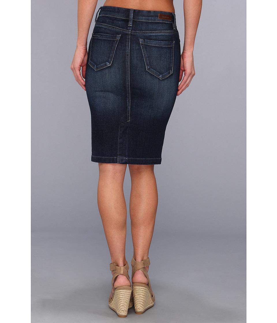 Blank NYC Denim Pencil Skirt in Denim Blue at Zappos.com