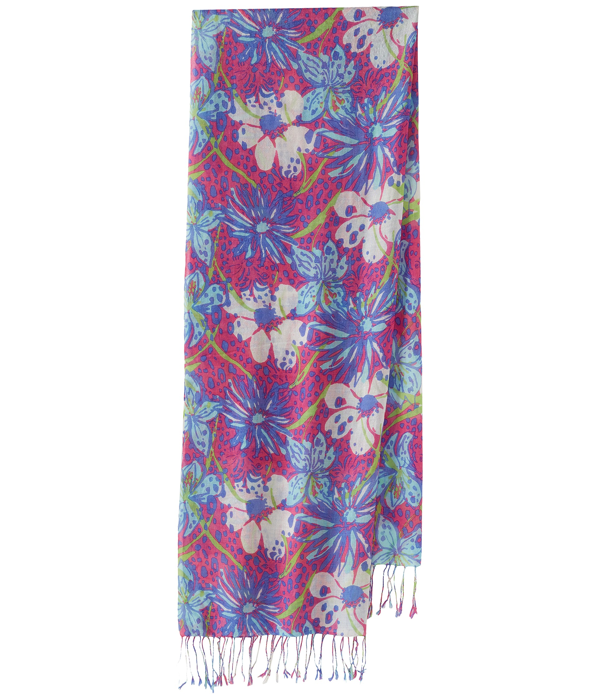 lilly pulitzer murfee scarf shipped free at zappos
