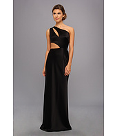 ABS Allen Schwartz - Cutout One-Shoulder Gown
