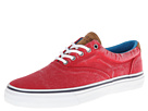 Sperry Top-Sider - Striper Twill Canvas (Red) - Footwear