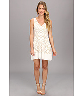 ABS Allen Schwartz - Drop Waist Eyelet Dress