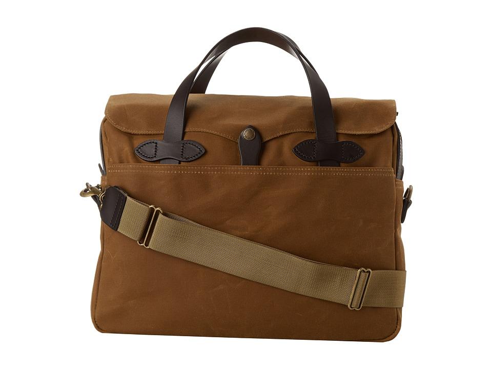 Filson - Tin Cloth Original Briefcase (Tan) Briefcase Bags
