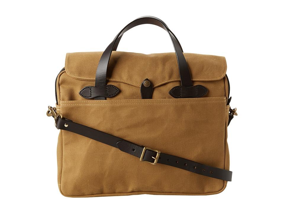 Filson - Original Briefcase (Tan) Briefcase Bags