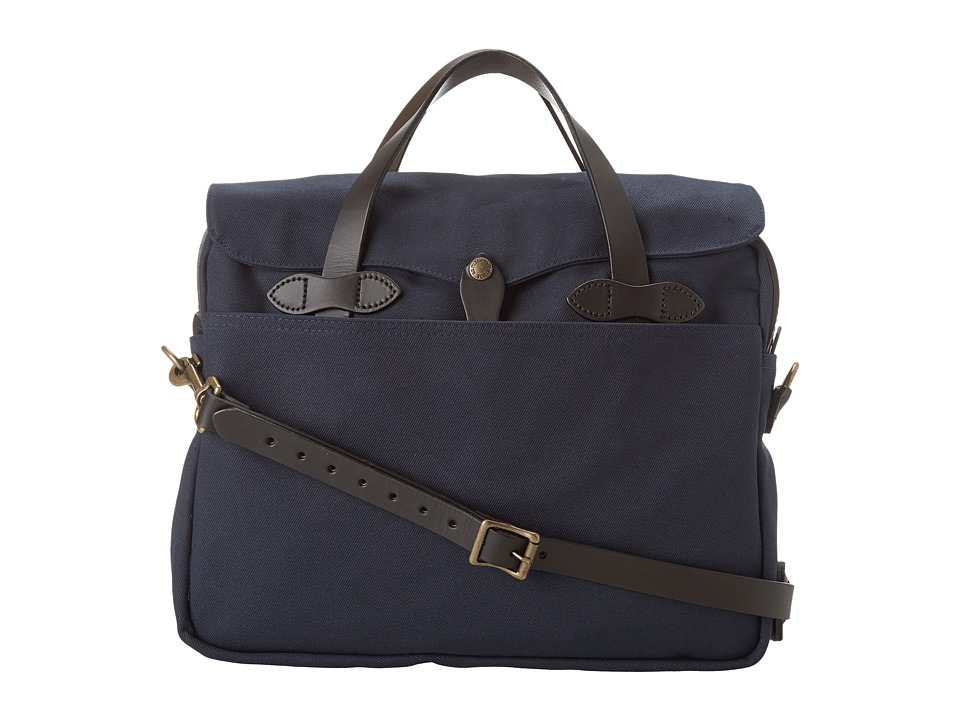 Filson - Original Briefcase (Navy) Briefcase Bags