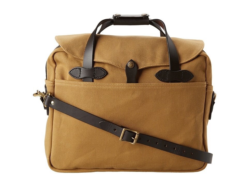 Filson Large Briefcase/Computer Case Tan Briefcase Bags