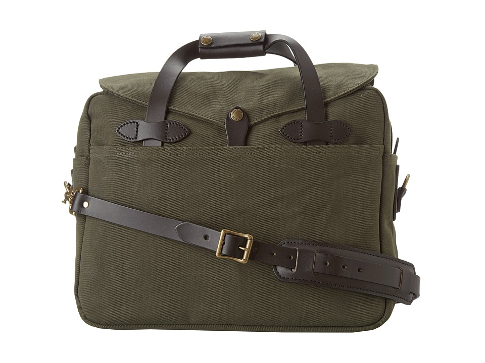 Filson - Large Briefcase/Computer Case (Otter Green) Briefcase Bags