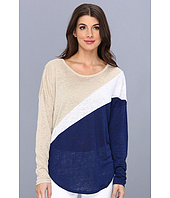 C&C California - Linen Colorblock L/S Dolman Top