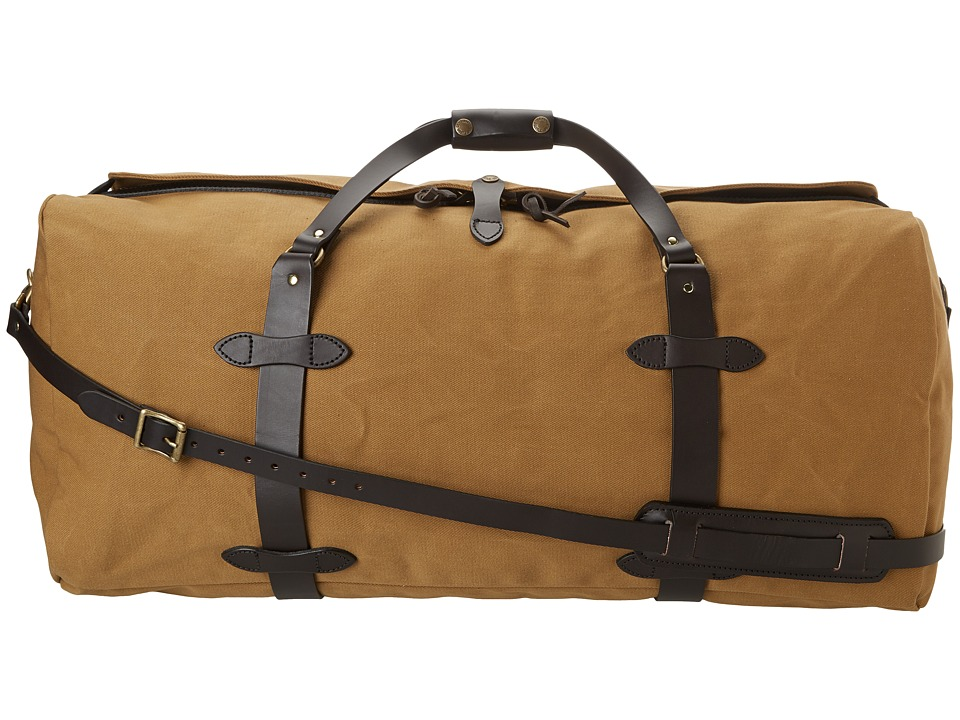Filson - Large Duffle Bag (Tan) Duffel Bags