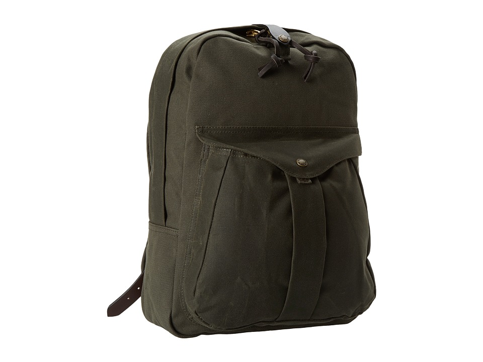 Filson - Twill Backpack (Otter Green/Otter Green) Backpack Bags