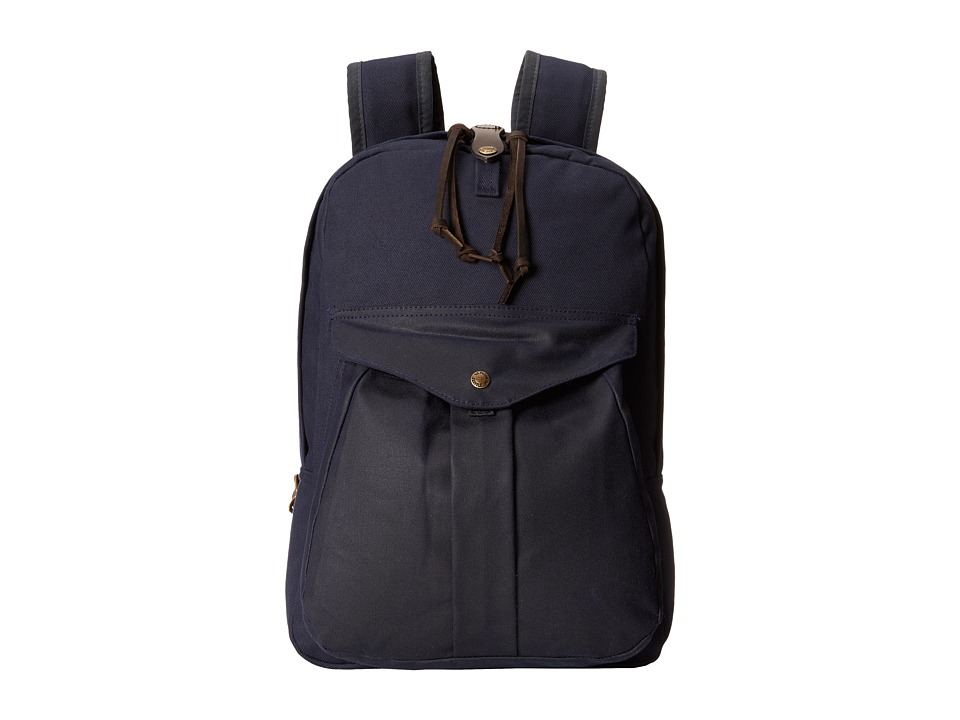 Filson Twill Backpack Navy/Navy Backpack Bags