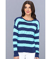 C&C California - L/S Stripe Crew Neck Sweater