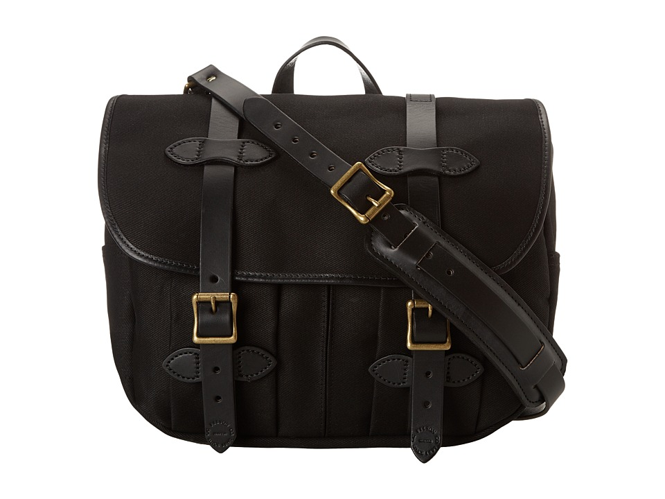Filson Medium Field Bag Black Bags