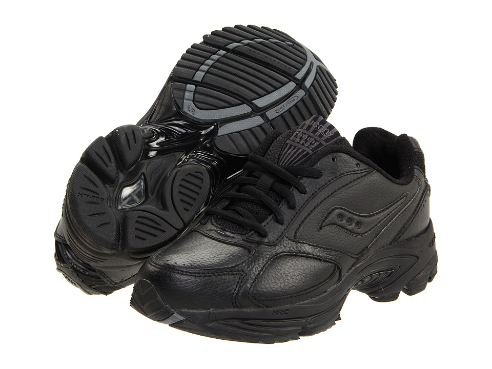 SauconyGrid Omni Walker  (Black) Womens Shoes
