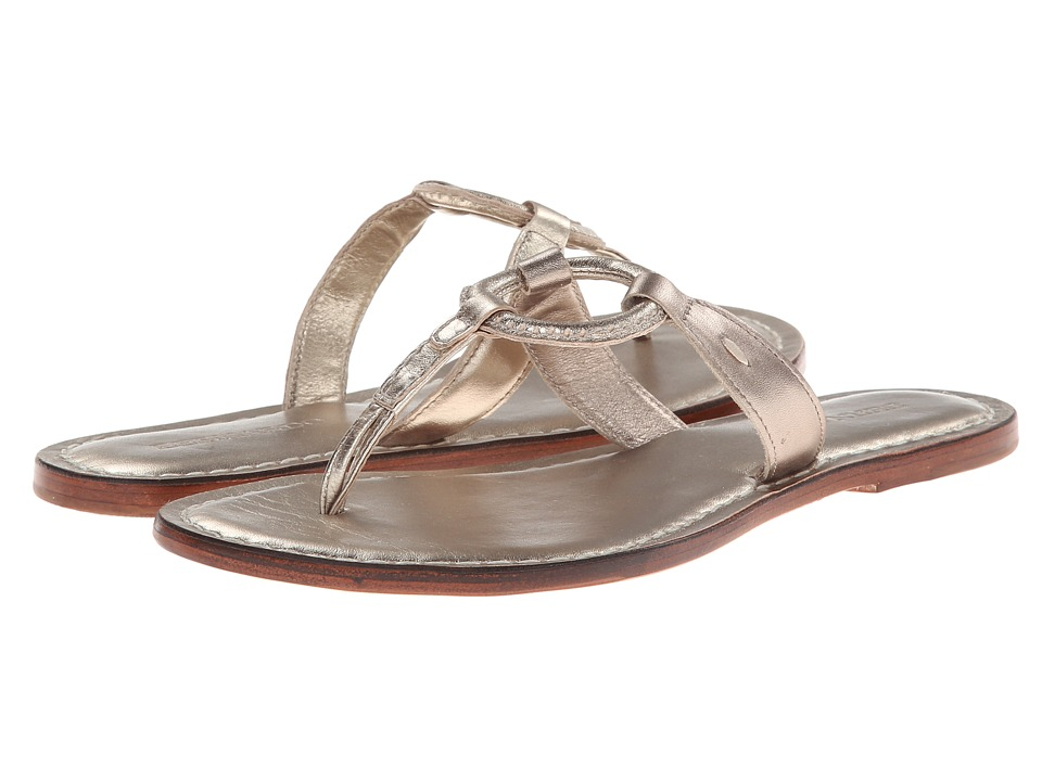 Bernardo Matrix (Platinum Calf/Platinum Calf) Sandals