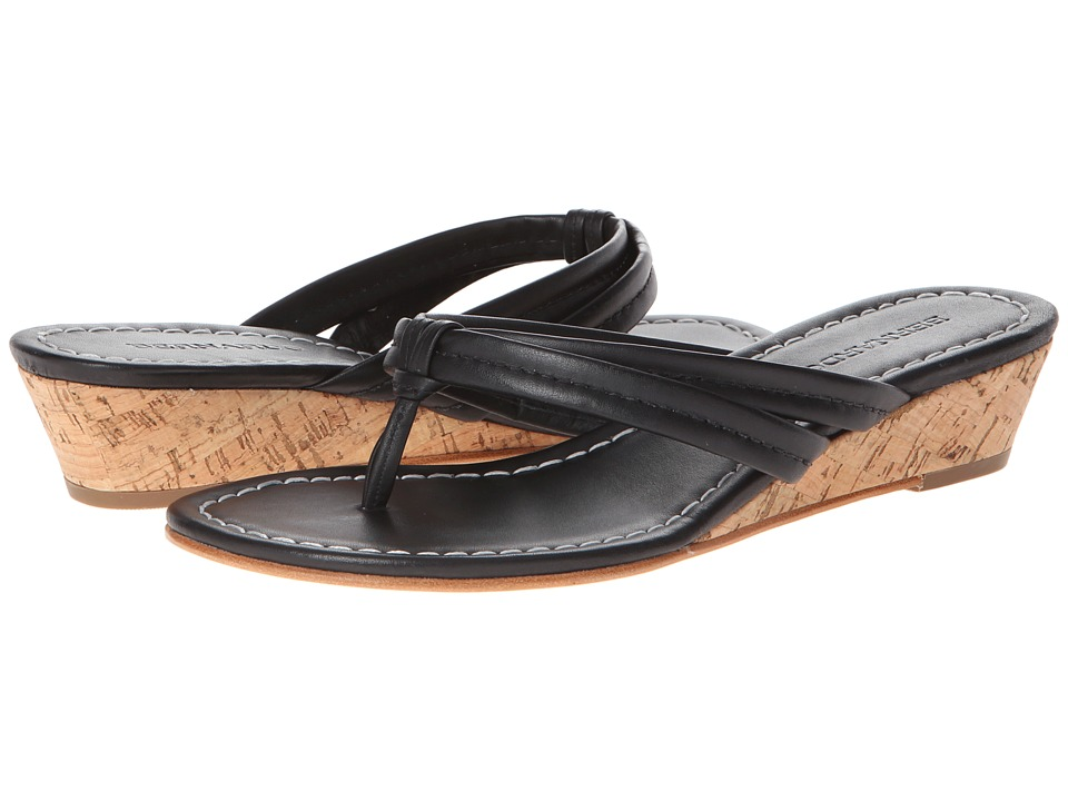 Bernardo Miami Wedge (Black Calf/Black Calf) Women