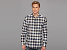 Elie Tahari - Checked Steve Shirt J3046504 (Blue Check) - Apparel
