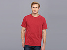 Elie Tahari - Galvin Cotton Slub Knit Shirt J35AK504 (Red Desert) - Apparel