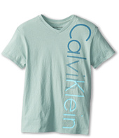 Calvin Klein Kids - Iconic V-Neck Tee (Big Kids)