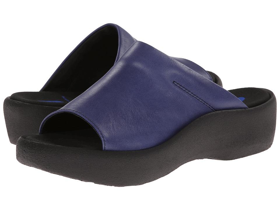 Wolky Nassau Steel Blue Womens Sandals