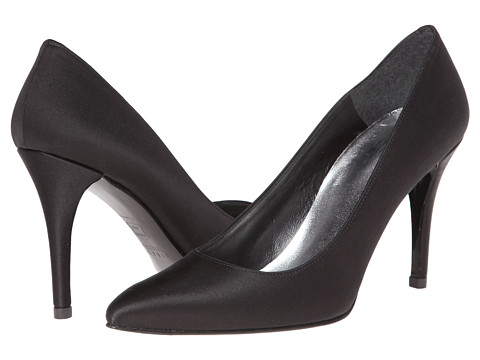 Shop Stuart Weitzman Bridal & Evening Collection online and buy Stuart Weitzman Bridal & Evening Collection Power Black Satin Footwear - Zappos.com is proud to offer the Stuart Weitzman Bridal & Evening Collection - Power (Black Satin) - Footwear: These elegant pumps are every stylish woman's dream. ; Luxurious satin or metallic fabric upper. ; Sleek pointed toe. ; Leather lining. ; Covered heel. ; Leather sole. ; Made in Spain. Measurements: ; Heel Height: 3 1 4 in ; Weight: 7 oz ; Product measurements were taken using size 7.5, width N. Please note that measurements may vary by size.
