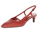 Bottega Veneta - Sling Pump (Burnt Red) - Footwear