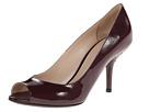 Bottega Veneta - Open Toe Pump (Aubergine) - Footwear