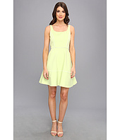 ABS Allen Schwartz - Square Neck Dress w/ Piping