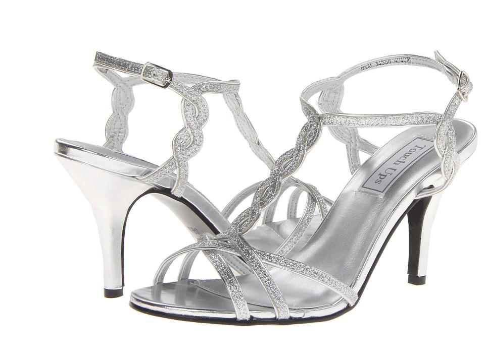 Touch Ups - Fran (Silver Glitter) High Heels