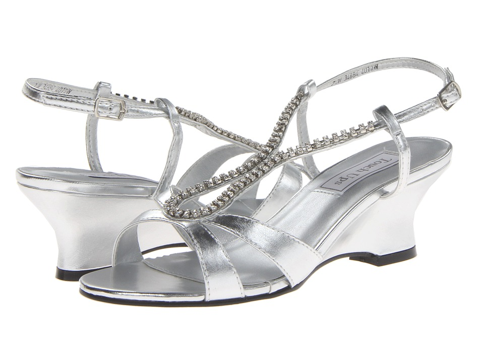 Touch Ups - Regina (Silver Metallic) Womens Sandals
