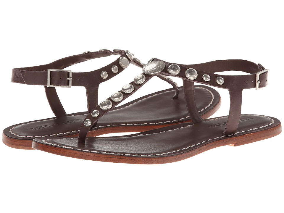 Bernardo Mojo (Chocolate Calf/Chocolate Calf) Flats
