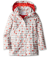 Little Marc Jacobs - Striped Floral Print Windbreaker With Hood (Toddler/Little Kids)