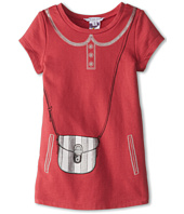 Little Marc Jacobs - Fleece Tromp L'Oeil Purse Dress (Toddler/Little Kids)