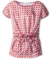 Little Marc Jacobs - Flowers Print Dress With 2 Front Pockets (Toddler/Little Kids)