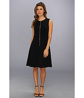 Calvin Klein - Zip Flirt Fit & Flare Dress