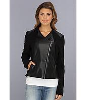 Calvin Klein - Polyurethane Lux Moto Jacket