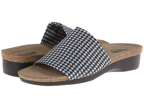 Munro American - Aquarius II (Houndstooth) - Footwear, wide width womens sandals, wide fitting sandal, WW