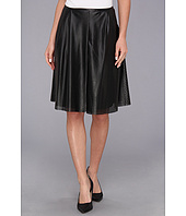 Calvin Klein - Perforated Polyurethane Pleated Skirt